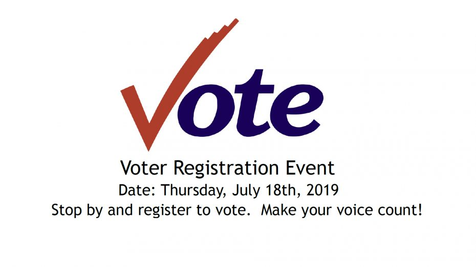2019 Voter Registration